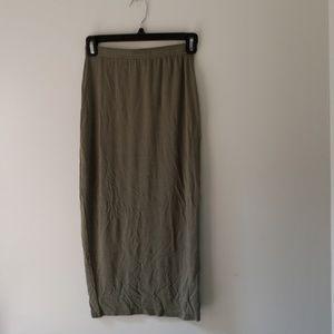 Boohoo Midi Pencil Skirt